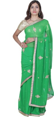 Rakshucollection Self Design Fashion Chiffon Sari