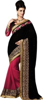 Alira Self Design Fashion Georgette Sari