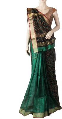 Glitters Printed Fashion Silk Sari