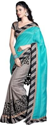 KRUPALI FASHION Printed Bollywood Printed Silk Sari
