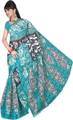 Maxusfashion Self Design Mysore Handloom Brasso Sari
