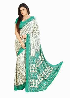 JK Fabrics Printed Fashion Crepe Sari