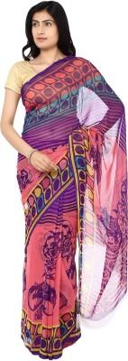 Ragini Saree Printed Fashion Crepe Sari
