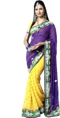 Beauty Choice Embriodered Bollywood Georgette Sari