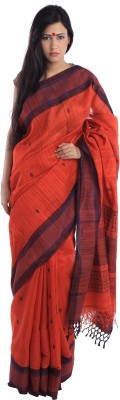 Kiara Crafts Woven Phulia Handloom Pure Silk Sari