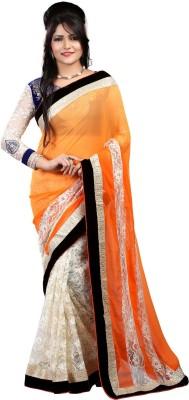 Sneh Varsha Sarees Floral Print Fashion Georgette Sari