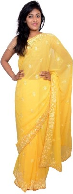 Kanchan Shree Printed Bollywood Georgette Sari