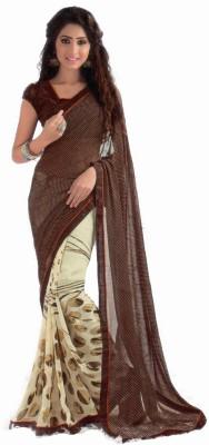 Shilpkar Self Design Fashion Chiffon Sari
