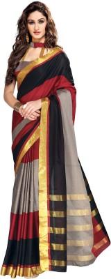 Tg Shoppers Woven Chettinadu Handloom Cotton Sari