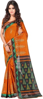 Cutie Pie Printed Fashion Handloom Banarasi Silk Sari