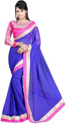 Radhe Fashion Embriodered Bollywood Chiffon Sari