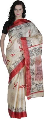 Prakum Printed Fashion Handloom Silk Sari