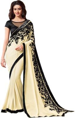 Fashion Wear Embriodered Bollywood Chiffon Sari