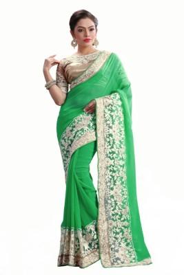 Av fashion Embriodered Fashion Georgette Sari