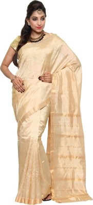 Urban village Self Design Mangalagiri Silk Sari