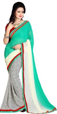 MahekImpex Printed Bollywood Georgette Sari