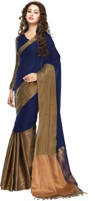Tg Shoppers Plain Bollywood Cotton Sari