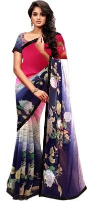 Wama Fashion Printed Fashion Pure Georgette Sari