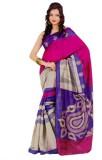 Miraan Printed Bhagalpuri Art Silk Saree...