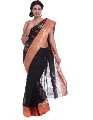 Adaab Self Design Tant Cotton Sari