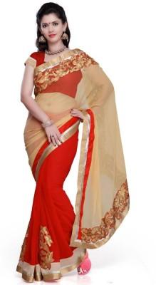 Yati Self Design Daily Wear Georgette Sari