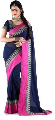 Vp Fashion Embriodered Fashion Georgette Sari