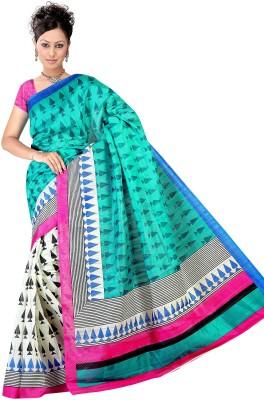 Offer Point Printed Bhagalpuri Silk Sari