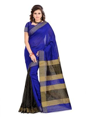 Aara trendz Self Design Fashion Cotton Sari