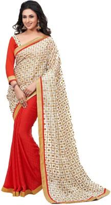 Rainbow Suits Printed Fashion Handloom Georgette Sari