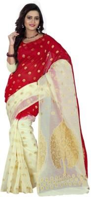 Sareeka Sarees Plain, Embriodered Balarampuram Banarasi Silk Sari