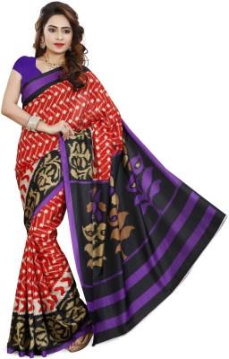 Ethnic For You Printed Bhagalpuri Art Silk Sari