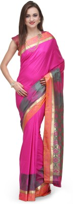 Fabroop Woven Bomkai Art Silk Sari