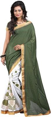 Rich Looks Printed Fashion Art Silk Sari