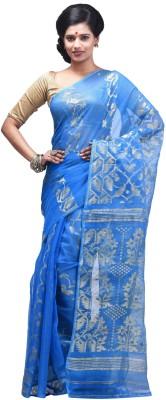 Creation Woven Jamdani Handloom Muslin Sari