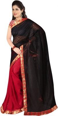Salasar Self Design Bollywood Synthetic Chiffon Sari