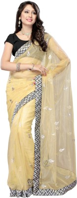 Khusi Fashion Printed Daily Wear Net Sari