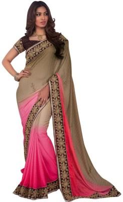 Kintu Designs Pvt. Ltd. Plain Fashion Jacquard Sari