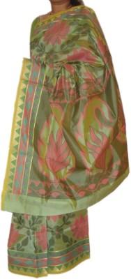 ARCHAN Self Design Fashion Tussar Silk Sari