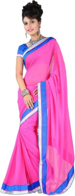 Stylo Self Design Fashion Georgette Sari