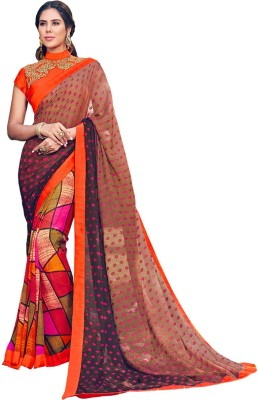 Vbuyz Printed Fashion Georgette Sari