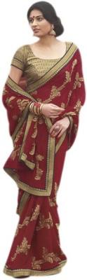 Vivacity Printed Fashion Georgette Sari