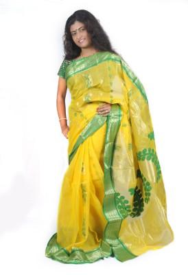 Fashion Gallery Embriodered Tangail Handloom Cotton Sari