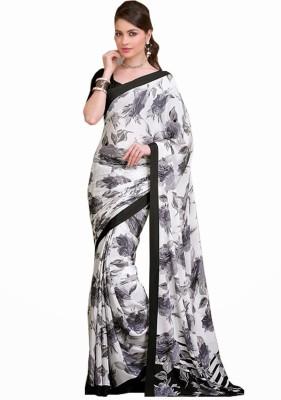 Ethnic For You Printed Fashion Silk Sari