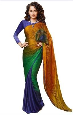 PAHAL FASHION Printed Daily Wear Jacquard Sari