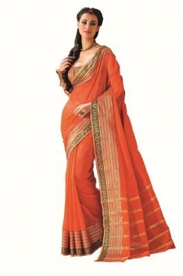 Katonline Woven Fashion Cotton Sari