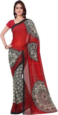 MADA Printed Daily Wear Georgette Sari