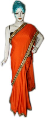 Vincy Self Design Bollywood Chiffon, Lace, Brocade Sari