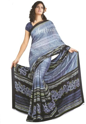 Nidhi Collection Printed Fashion Art Silk Sari
