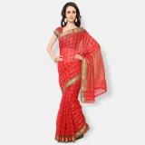 Bhelpuri Woven Fashion Kota Saree (Red)
