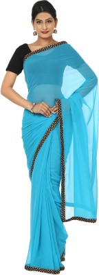 Kajal New Collection Plain Fashion Georgette Sari